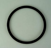 Gasket for crankcase breather on engine block